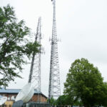 WILL-AM-FM-TV Studio Tower at the University of Illinois Champaign-Urbana